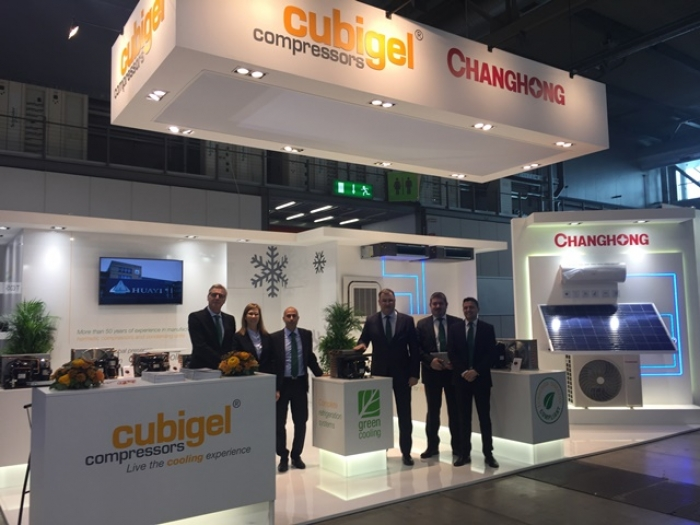Huayi Compressor Barcelona at MCE 2018