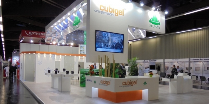 Successful participation of Huayi in Chillventa 2014