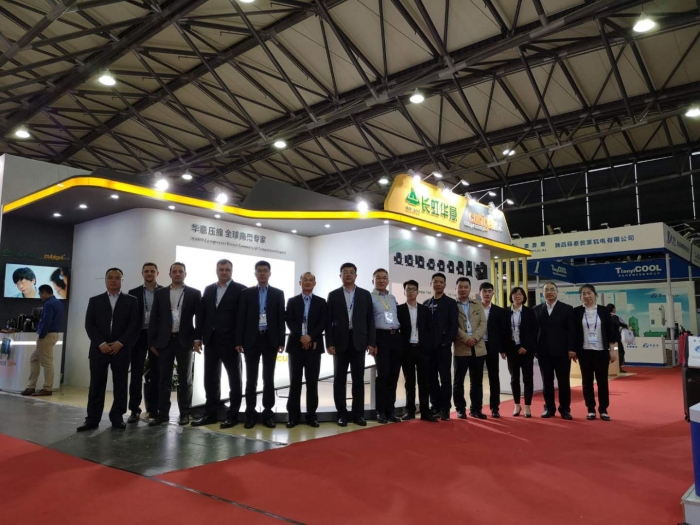 Huayi Compressor Barcelona at China Refrigeration 2019