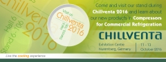 Huayi Compressor Barcelona will participate in Chillventa 2016. Visit us Hall 6 Stand 6-106